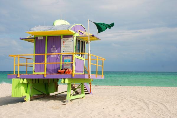 Miami Beach Life saver hut